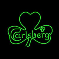 Carlsberg Leaf Neon Sign