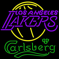 Carlsberg Los Angeles Lakers NBA Beer Sign Neon Sign