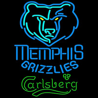 Carlsberg Memphis Grizzlies NBA Beer Sign Neon Sign