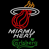 Carlsberg Miami Heat NBA Beer Sign Neon Sign
