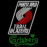 Carlsberg Portland Trail Blazers NBA Beer Sign Neon Sign