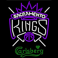 Carlsberg Sacramento Kings NBA Beer Sign Neon Sign