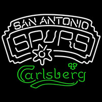 Carlsberg San Antonio Spurs NBA Beer Sign Neon Sign