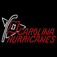 Carolina Hurricanes Alternate 2008 09 Pres Logo NHL Neon Sign Neon Sign