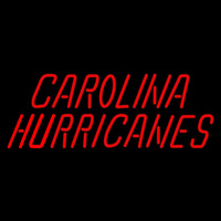 Carolina Hurricanes Wordmark 1997 98 Pres Logo NHL Neon Sign Neon Sign