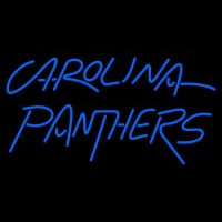 Carolina Panthers Wordmark   Logo NFL Neon Sign Neon Sign