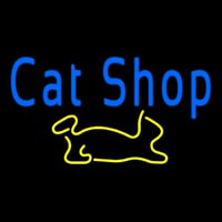 Cat Shop Neon Sign
