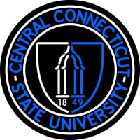Central Connecticut State University Sign Neon Neon Sign