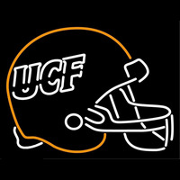Central Florida Knights Helmet 1996 2006 Logo NCAA Neon Sign Neon Sign