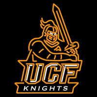 Central Florida Knights Primary 2007 Pres Logo NCAA Neon Sign Neon Sign