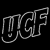 Central Florida Knights Wordmark 1996 2006 Logo NCAA Neon Sign Neon Sign