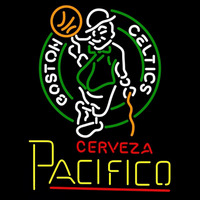 Cerveza Pacifico Boston Celtics NBA Beer Sign Neon Sign