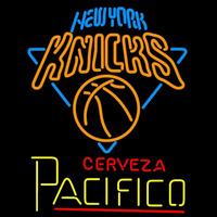 Cerveza Pacifico New York Knicks NBA Beer Sign Neon Sign