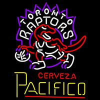 Cerveza Pacifico Toronto Raptors NBA Beer Sign Neon Sign
