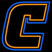 Chattanooga Mocs Primary Pres Logo NCAA Neon Sign Neon Sign