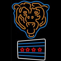Chicago Bears Nfl Neon Sign Neon Sign