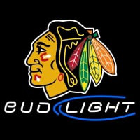 Chicago Blackhawks Bud Light NHL Neon Sign Neon Sign
