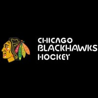 Chicago Blackhawks Flag Hockey Neon Sign Neon Sign