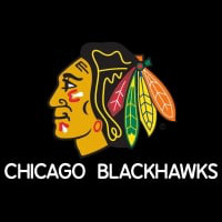 Chicago Blackhawks Logo Hockey Neon Sign Neon Sign