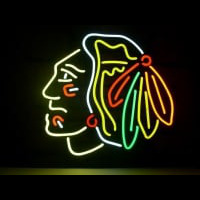 Chicago Blackhawks Neon Sign Neon Sign