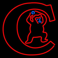 Chicago Cubs Alternate 1934 937 Logo MLB Neon Sign Neon Sign