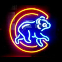 Chicago Cubs Neon Sign Neon Sign