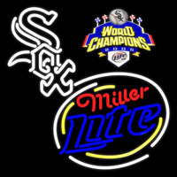 Chicago White Sox World Series Real Neon Glass Tube Neon Sign Neon Sign