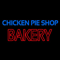 Chicken Pie Shop Bakery Neon Sign