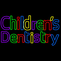 Childrens Dentistry Neon Sign