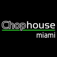 Chophouse Double Stroke Neon Sign
