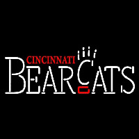 Cincinnati Bearcats Wordmark 1990 2005 Logo NCAA Neon Sign Neon Sign