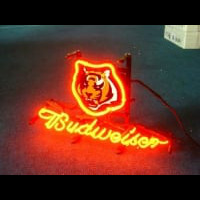 Cincinnati Bengals Football Neon Sign Neon Sign