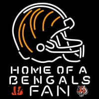 Cincinnati Bengals Home Gf A Fan Neon Beer Sign Neon Sign