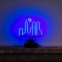 City Desktop Neon Sign