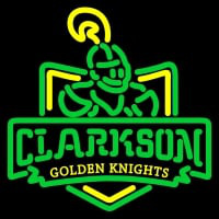Clarkson Golden Knights Primary Pres Logo NCAA Neon Sign Neon Sign