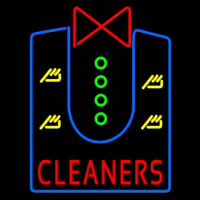 Cleaners With Shirt Neon Sign