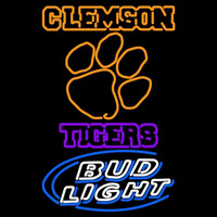 Clemson Tigers Bud Light Logo Neon Sign Neon Sign
