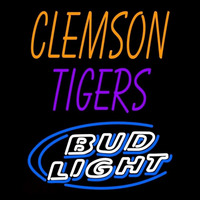Clemson Tigers Bud Light Neon Sign Neon Sign