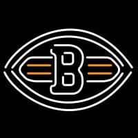 Cleveland Browns B Football NFL Neon Sign Neon Sign