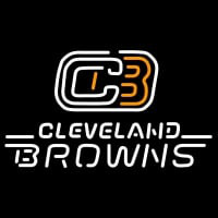 Cleveland Browns Cb Name NFL Neon Sign Neon Sign
