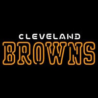Cleveland Browns Name NFL Neon Sign Neon Sign