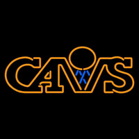 Cleveland Cavaliers Primary 1983 84 1993 94 Logo NBA Neon Sign Neon Sign