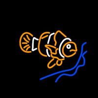 Clown Fish Neon Sign
