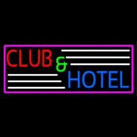 Club And Hotel Bar Neon Sign
