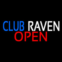 Club Raven Neon Sign