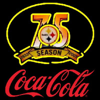 Coca Cola Pittsburgh Steelers th Season Red NFL Neon Sign Neon Sign