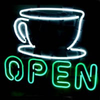 Coffee Shop Open Sign Neon Sign