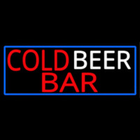 Cold Beer Bar Neon Sign