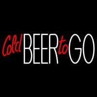Cold Beer To Go Neon Sign