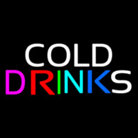 Cold Drinks Neon Sign